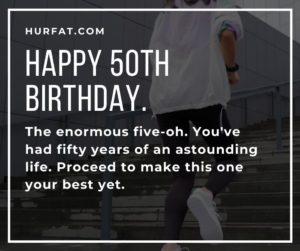 Happy 50th Birthday.