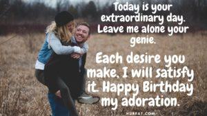 Happy Birthday My Adoration