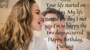 Happy Birthday Darling!