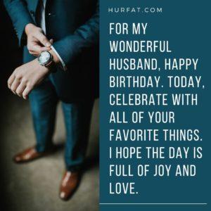 Happy Birthday My Husband