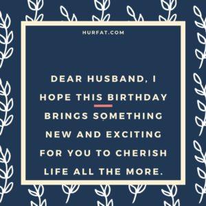 Happy Birthday Dear Husband