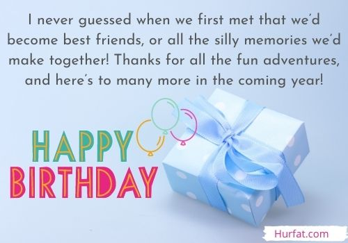 Happy Birthday Messages for Best Friend