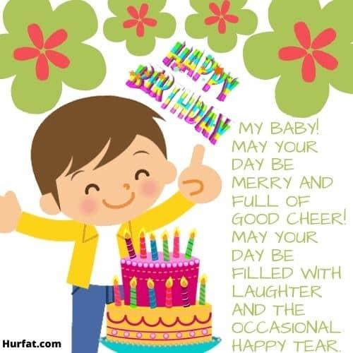 Happy Birthday My Baby!