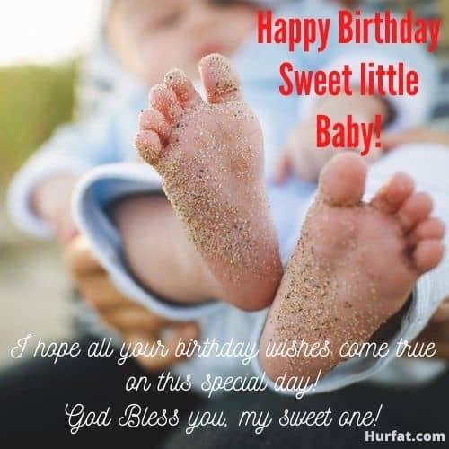 Happy Birthday Sweet Little Baby!