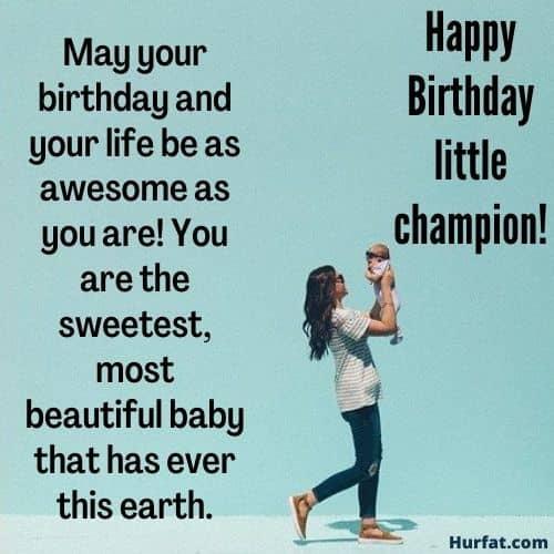 Happy Birthday Little Champion!