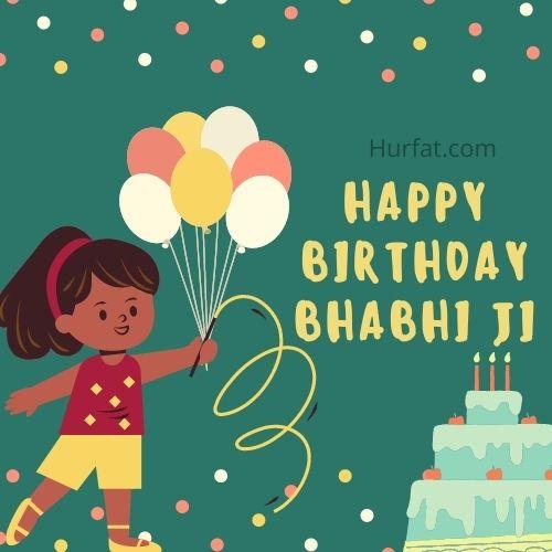 Happy Birthday wishes for Bhabhi