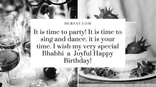 Happy Birthday Wishes for Bhabhi in English