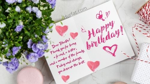 Happy Birthday Messages for Bhabhi Images