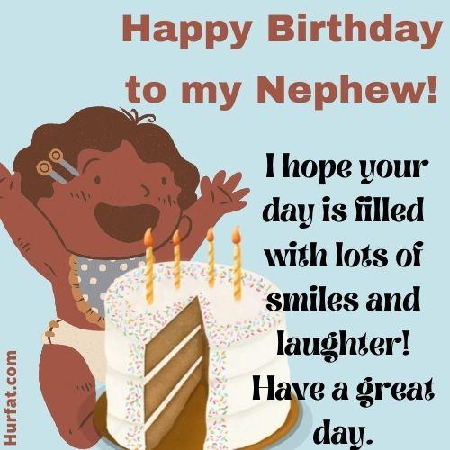Happy birthday nephew!