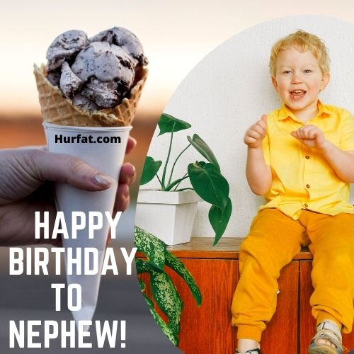 Happy birthday to nephew!