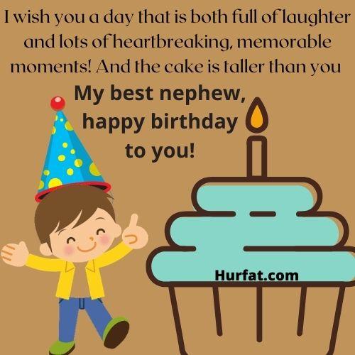 Funny happy birthday nephew!