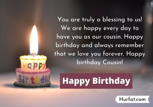 Happy Birthday Cousin Quotes messages