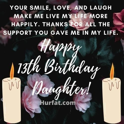 Happy 13th birthday Daughter image