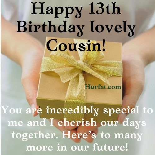 Happy 13th Birthday to My cousin Image