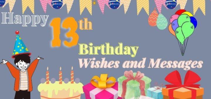 Happy 13th Birthday image