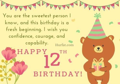 Happy 12th Birthday images