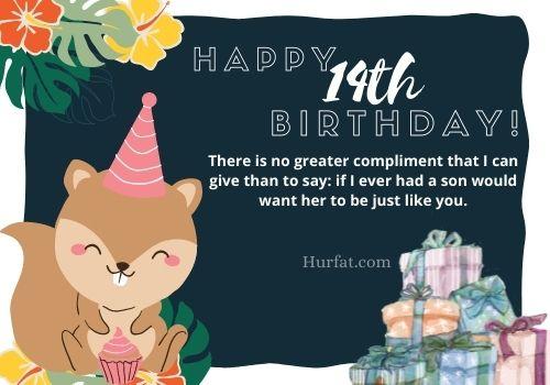 Happy 14th Birthday Images