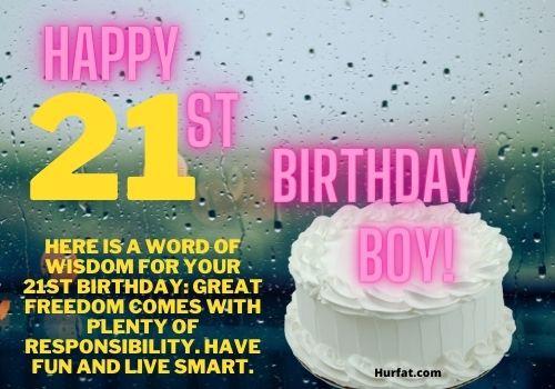 Happy 21st Birthday