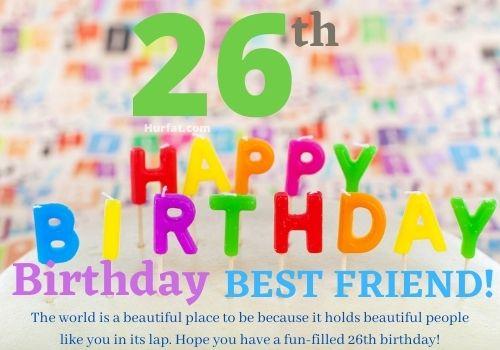 Happy 26th Birthday