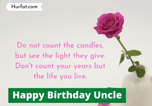 Happy birthday uncle Cards