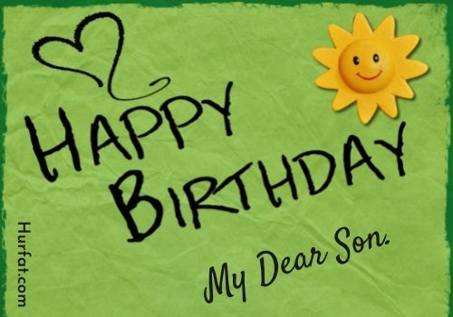 Happy birthday to son images